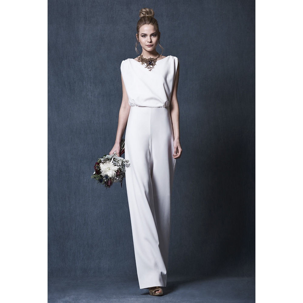 1284bbb3b Vestido Amelie Blanco - Mira La Marela - Diseño Español